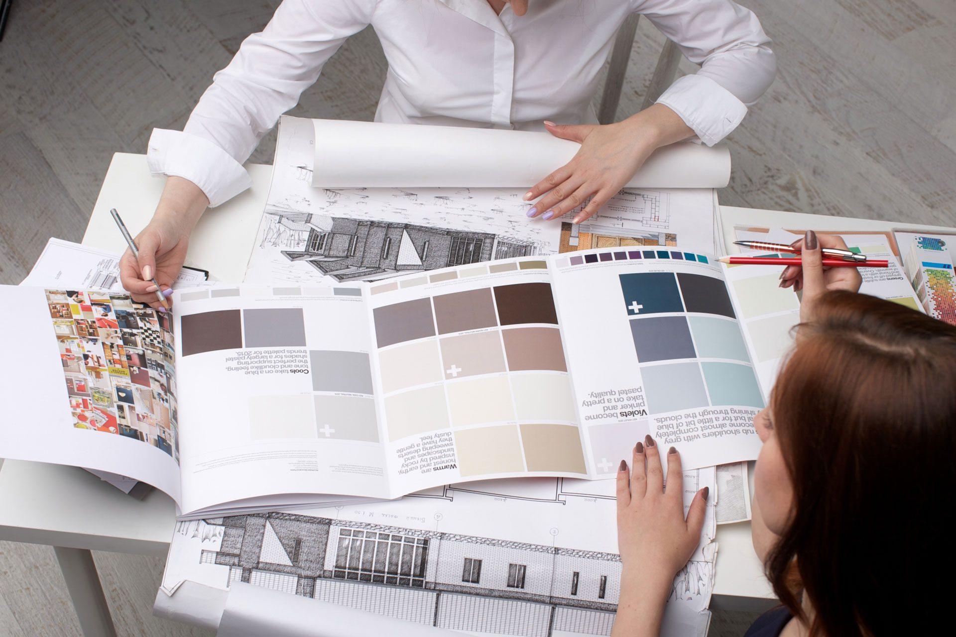 施工前の不安を解消!実績ある建築デザイナーによる相談で、より具体的にイメージして頂ける、個人のお客様向けの安心サービスです。